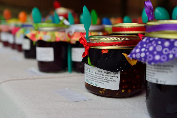Sister Sue's Jelly jars